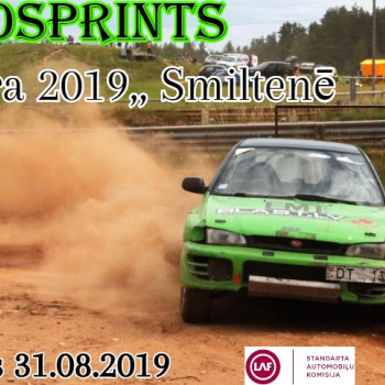 AUTO SPRINT Summer 2019 5.stage Aug 31, 2019.
